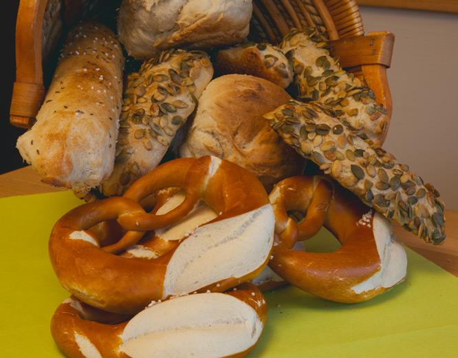 Produkte der Albbäckerei Wörz